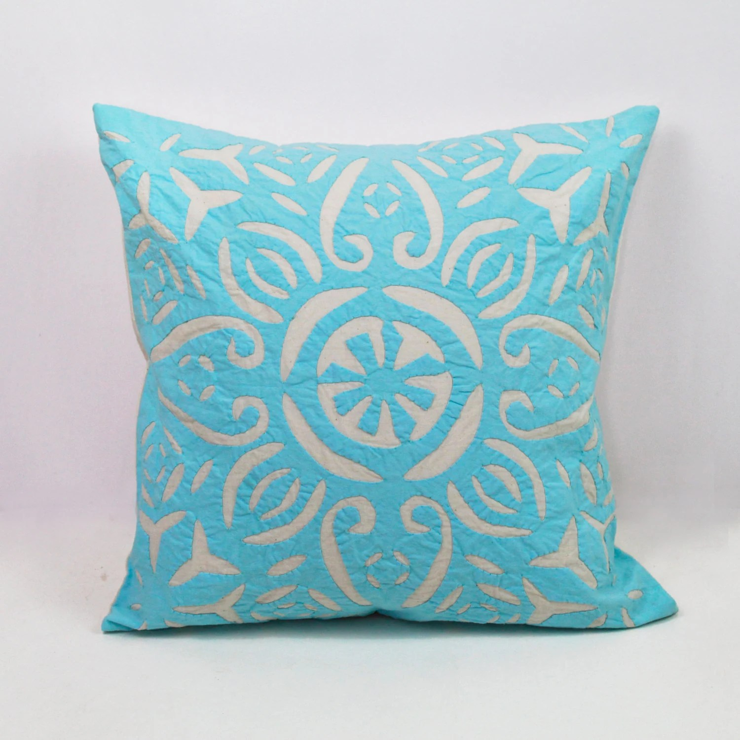 Best Blue And White Pillows Handmade Pillows Decorative By This Month