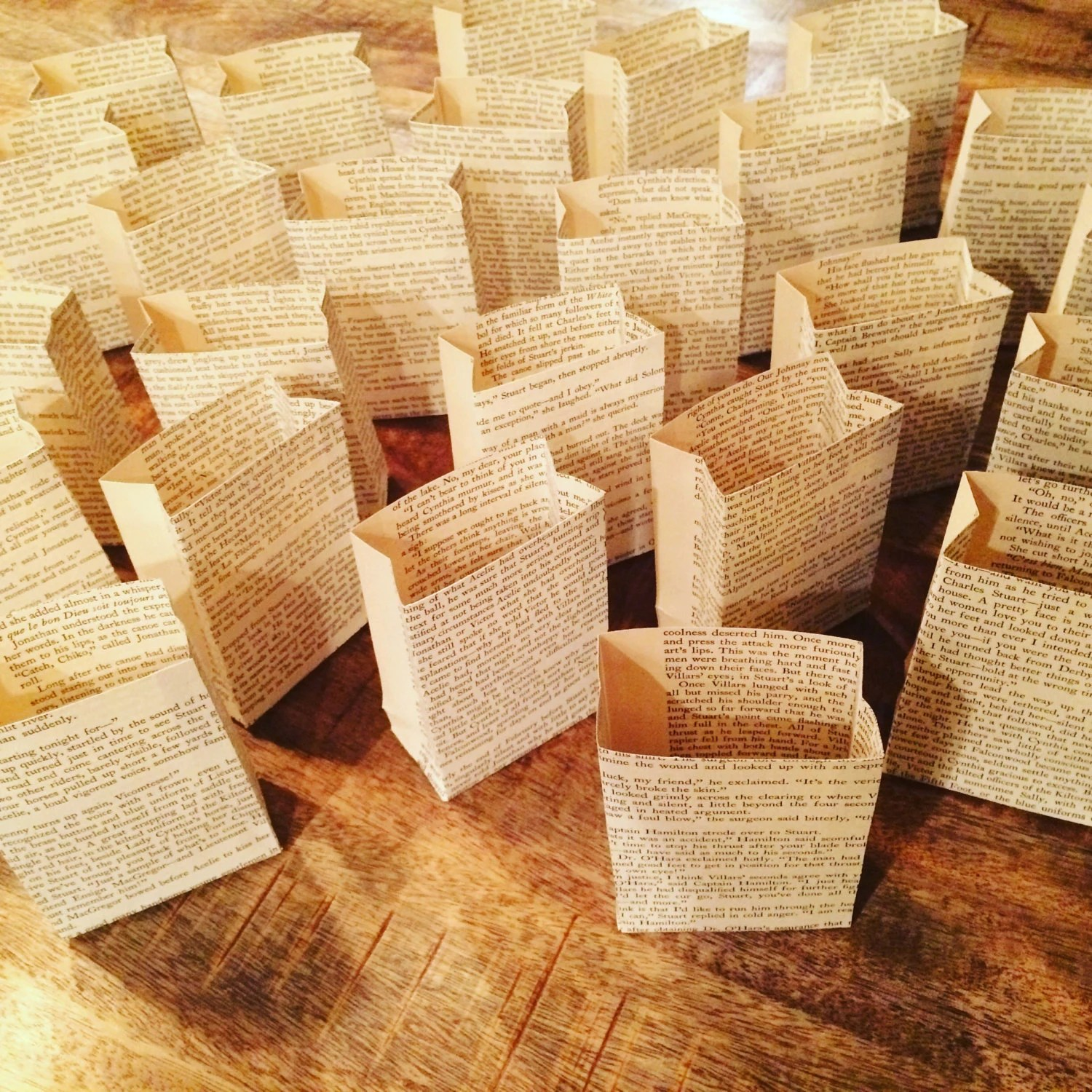 Best Book Club Favors 5 Luminary Bags Book Club Party Book This Month