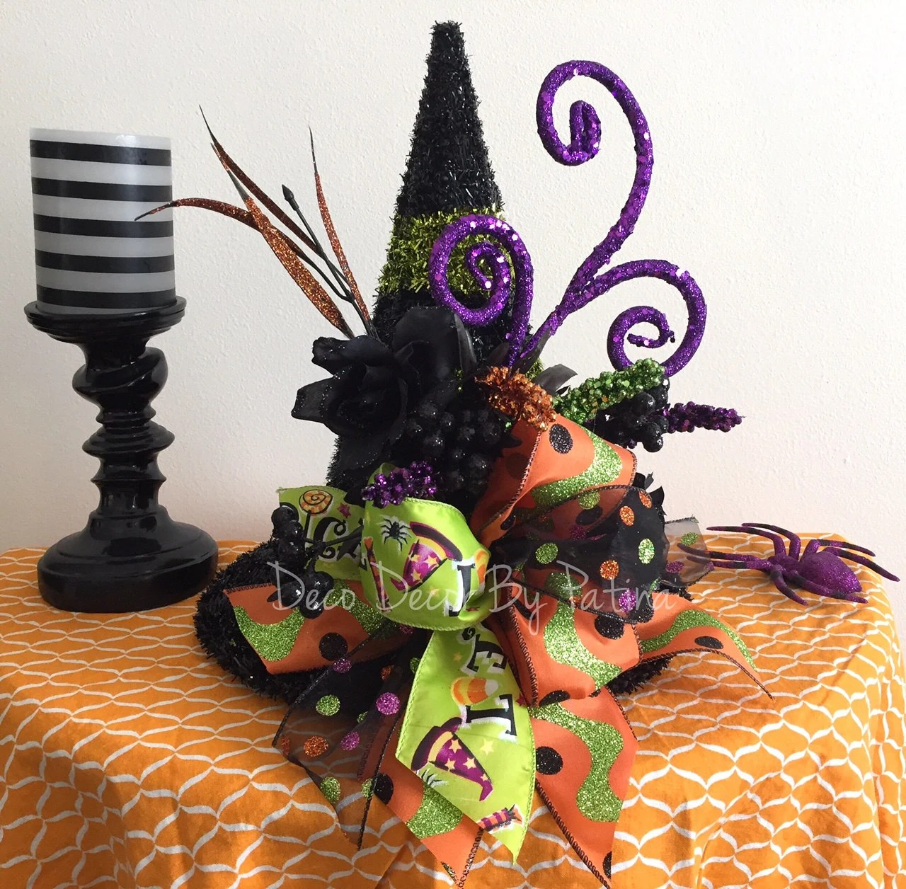 Best Witch Centerpiece Witch Hat Floral Arrangement Witch Hat This Month
