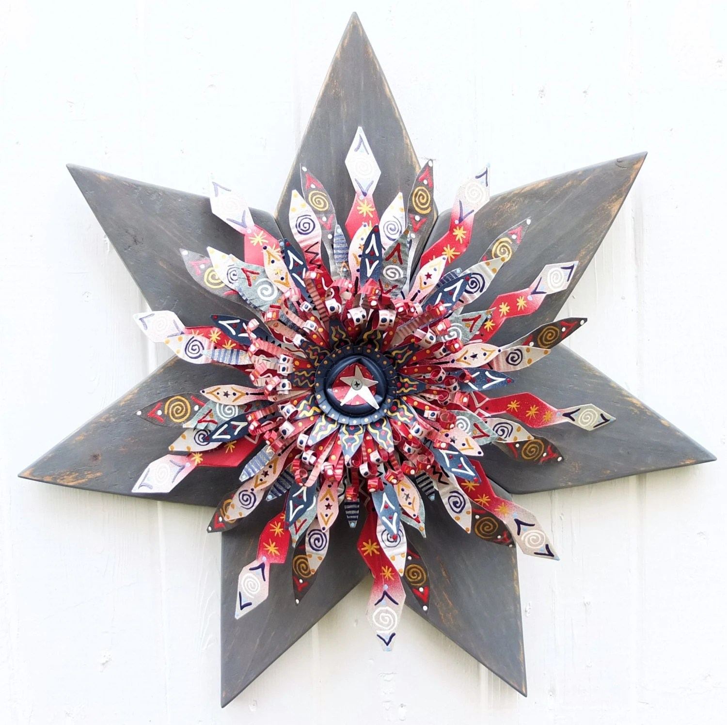 Best Patriotic Decor Primitive Decor 4Th Of July Decor Country This Month