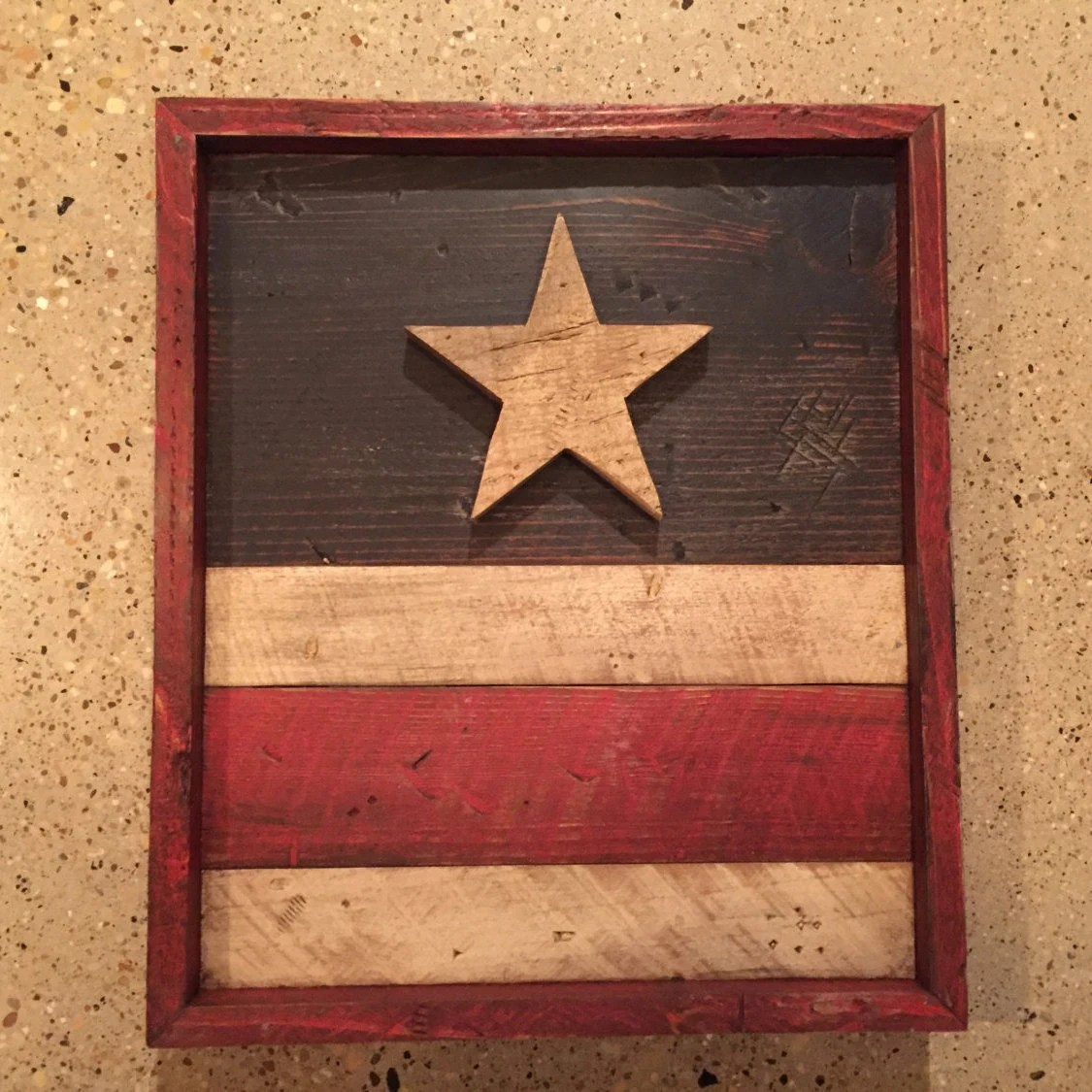 Best Items Similar To Rustic Americana Wall Decor On Etsy This Month