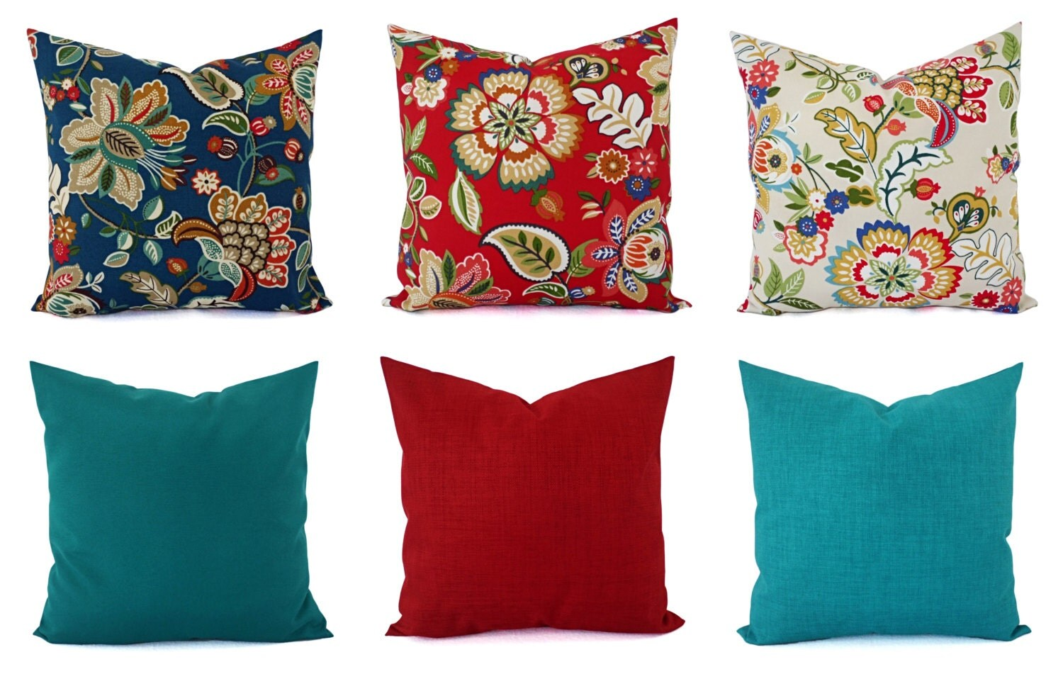 Best Outdoor Throw Pillow Cover Floral Pillow By Castawaycovedecor This Month
