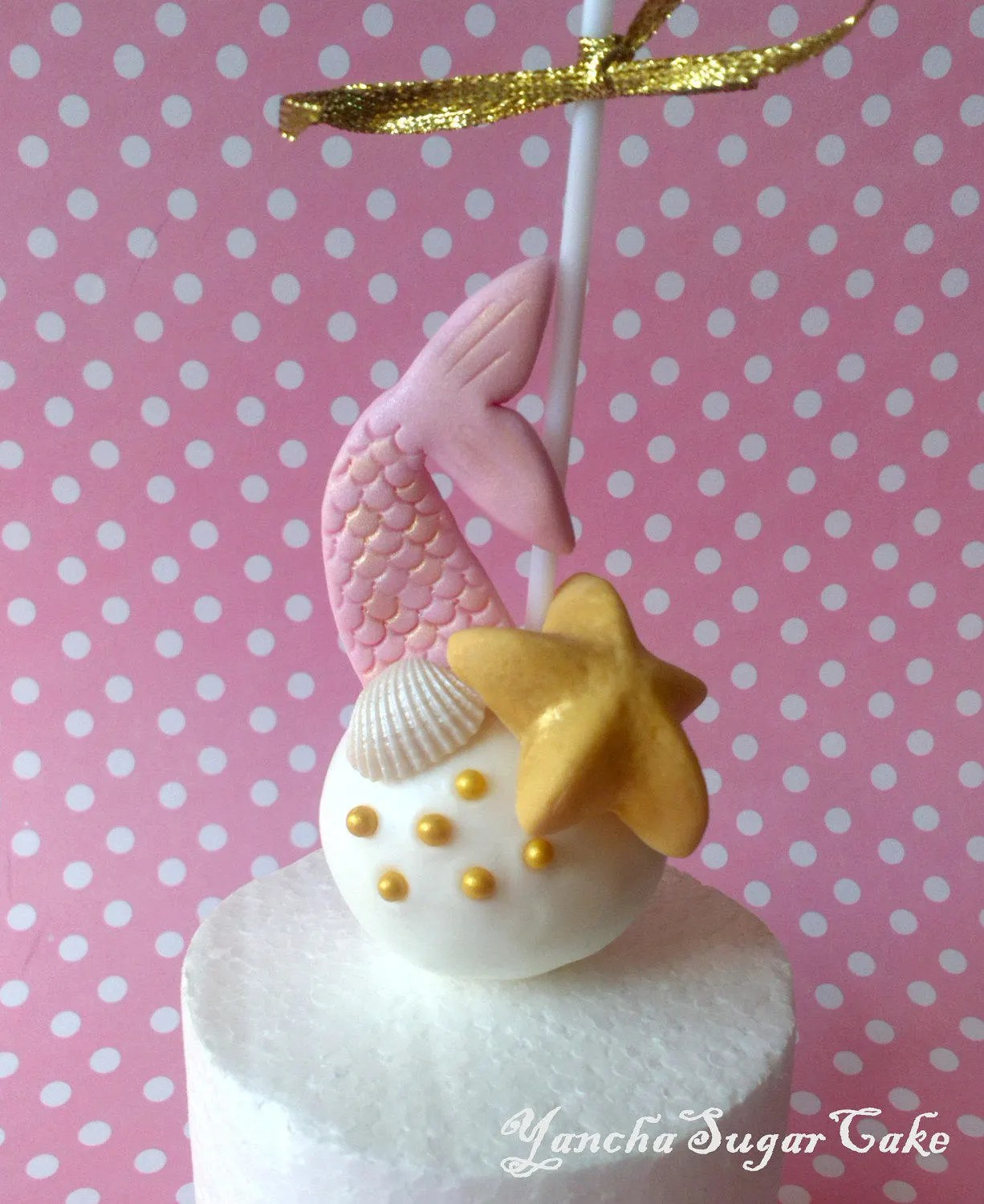 Best Fondant Edible Decorations For Cake Pop Or Cupcake Mermaid This Month