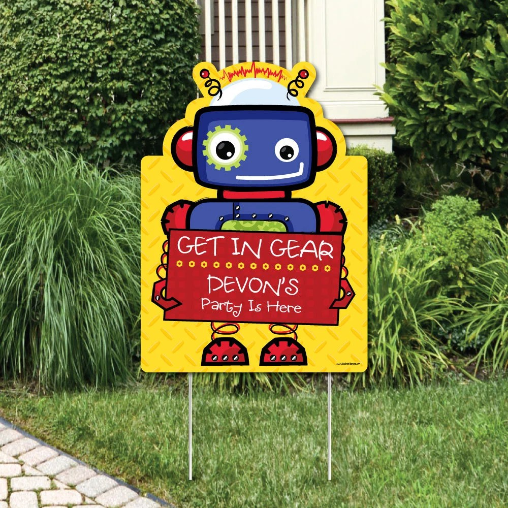 Best Robots Party Decorations Birthday Party Or Baby Shower This Month
