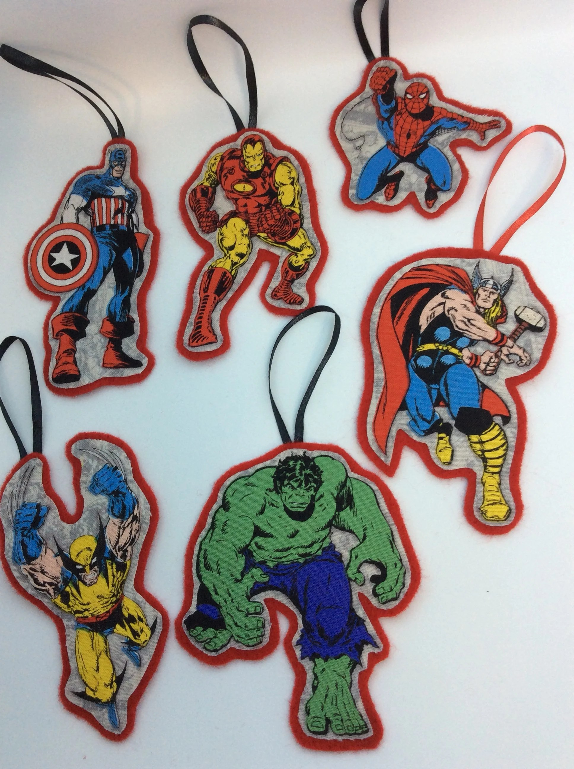 Best Six Avengers Christmas Ornaments Etsy This Month