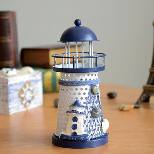 Best Modern Nautical Lighthouse Table Lamp Iron Rgb Led Light This Month