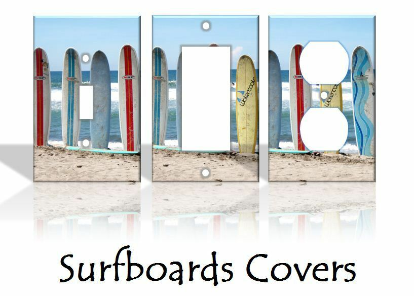 Best Surfboards Beach Light Switch Covers Beach Home Decor This Month