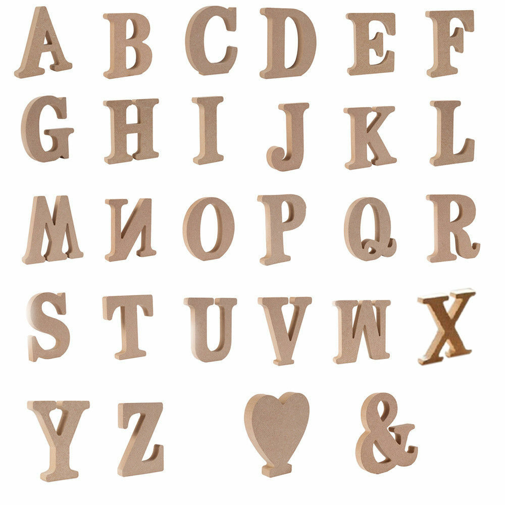 Best Lots Large A Z Wooden Letters Alphabet Wall Hanging This Month