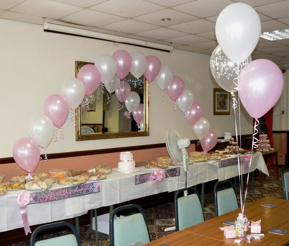 Best Christening Balloons Boy Or Girl Arch 10 Table This Month