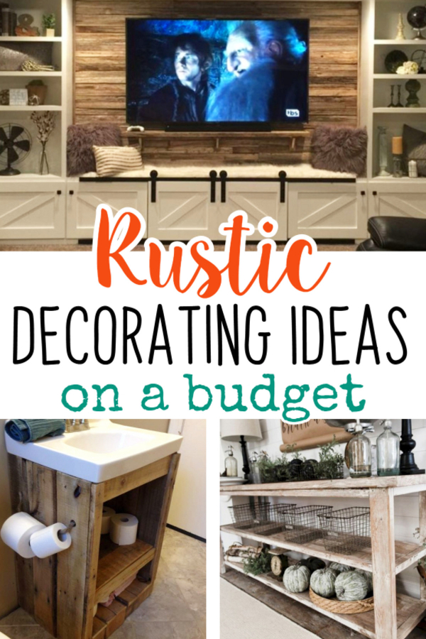 Best Easy Diy Rustic Home Decor Ideas On A Budget Involvery This Month