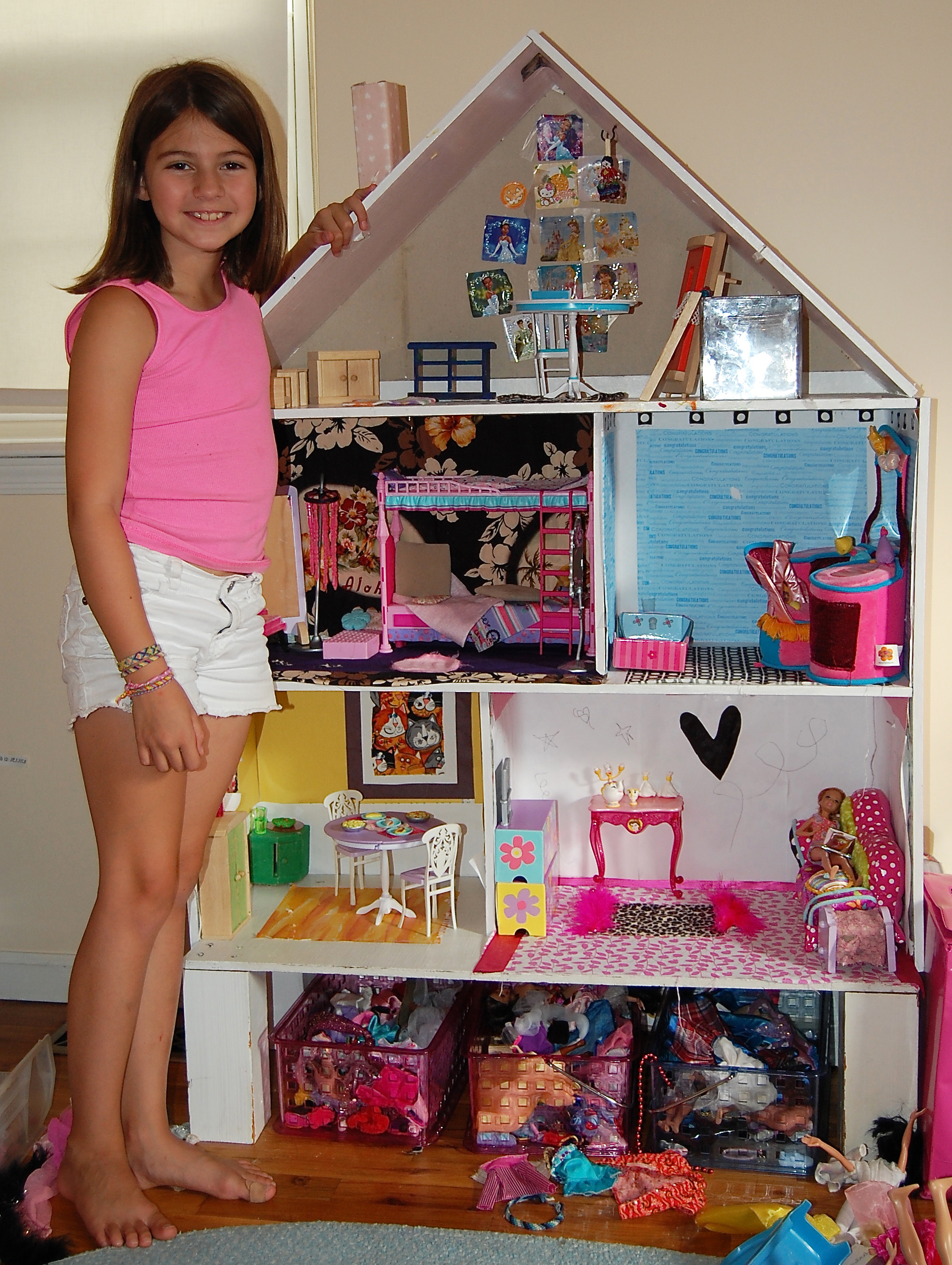 Best Taking Dollhouse Decorating To New Heights The Spokesman This Month