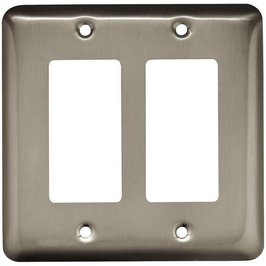 Best 2 Gang Double Duplex Decorator Toggle Wall Plate This Month
