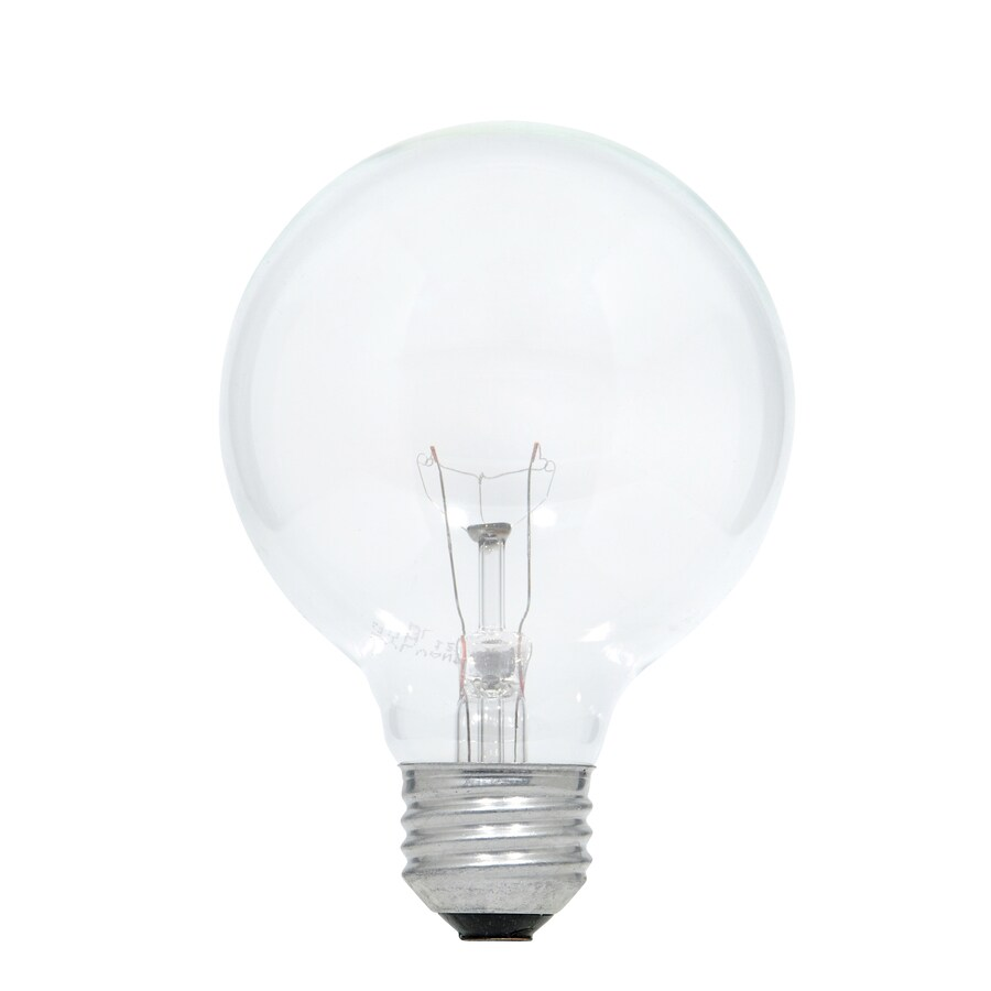Best 2 Pack 60 Watt Dimmable Soft White G25 Incandescent This Month