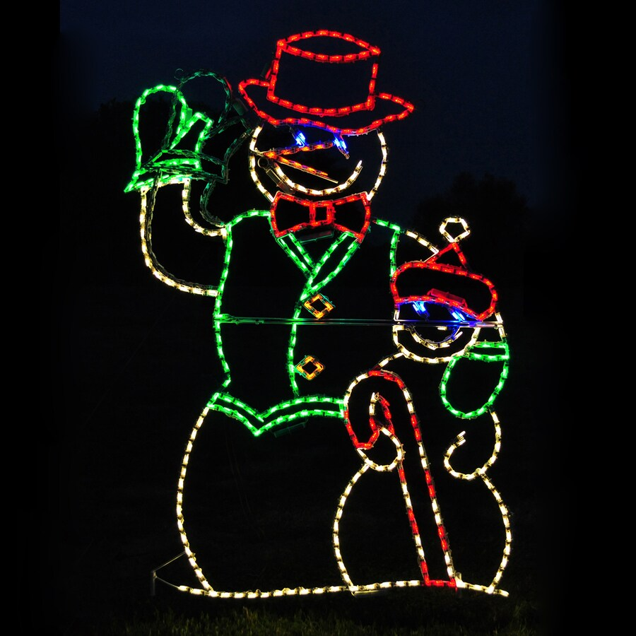 Best Holiday Lighting Specialists 4 Ft Animated Waving Snowman This Month