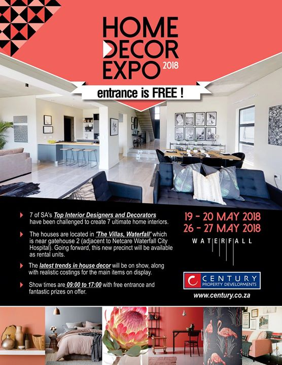 Best Home Decor Expo 2018 At Waterfall Midrand Johannesburg This Month