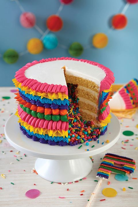 Best Kids Creative Cakes Piñata Cake At The Wilton School Of This Month