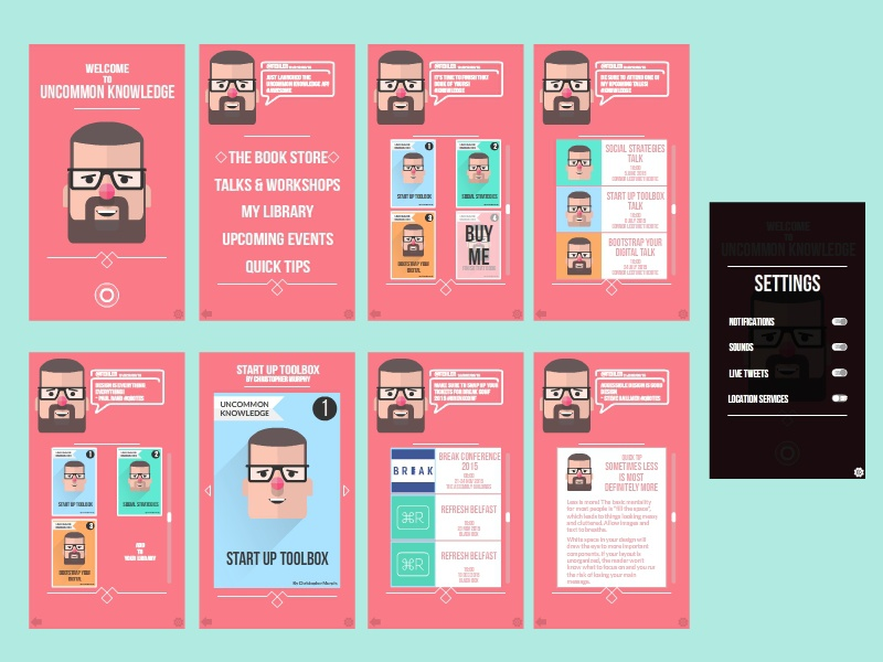 Best App Design For Uncommon Knowledge By Josh Toan Dribbble This Month