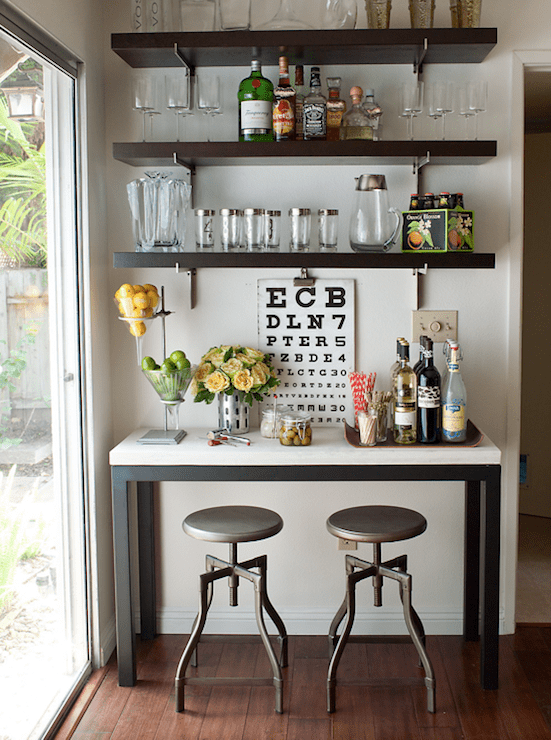 Best Console Table Bar Design Ideas This Month