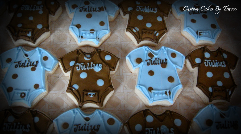 Best Brown And Blue Baby Shower Cookies Here Are A Few Of The This Month