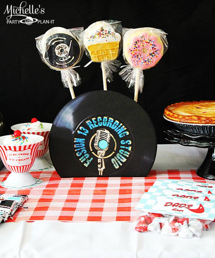 Best Kara S Party Ideas Retro 1950 S Dad S Diner Father S Day This Month