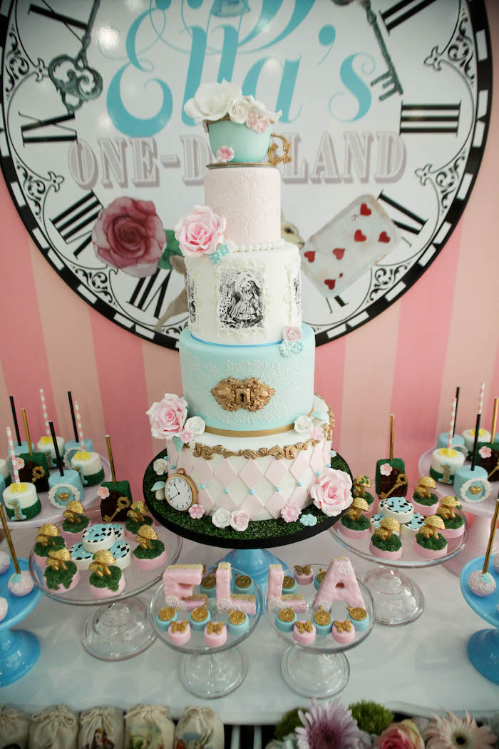 Best Kara S Party Ideas Alice In Wonderland Birthday Party This Month