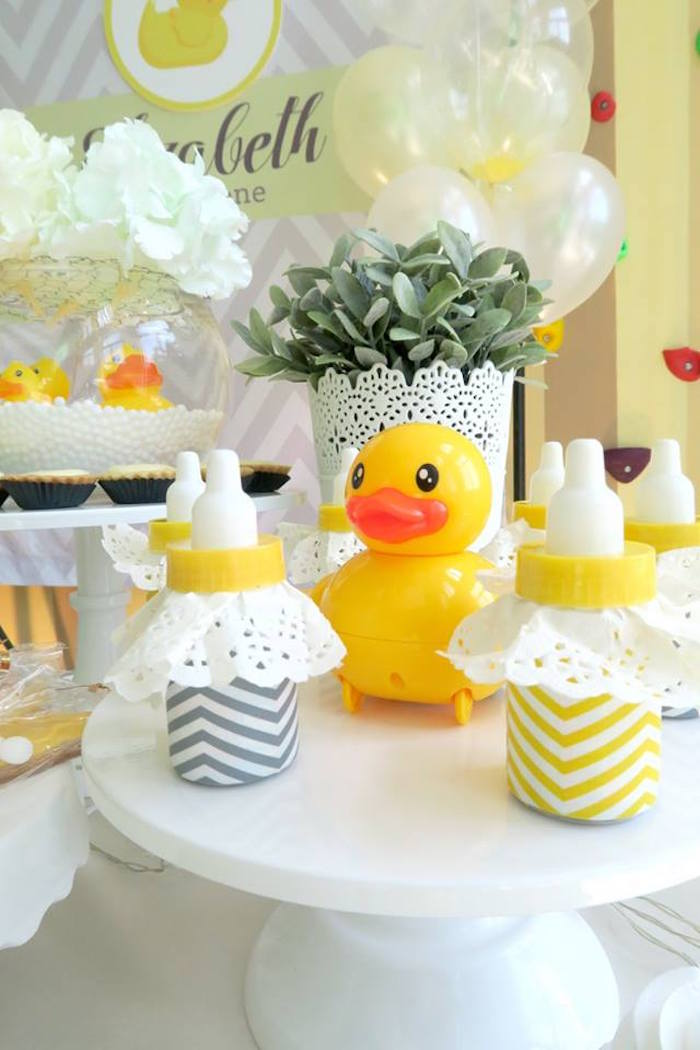 Best Kara S Party Ideas Rubber Duck Birthday Party Kara S This Month