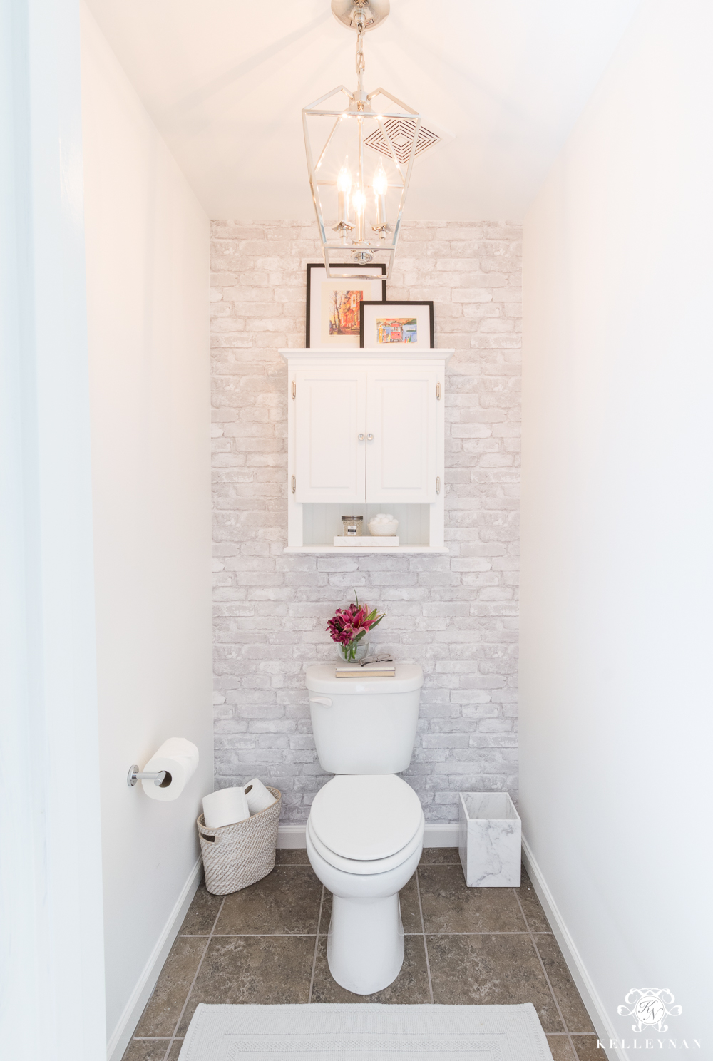 Best Toilet Room Makeover Reveal And Clever Bathroom Storage This Month