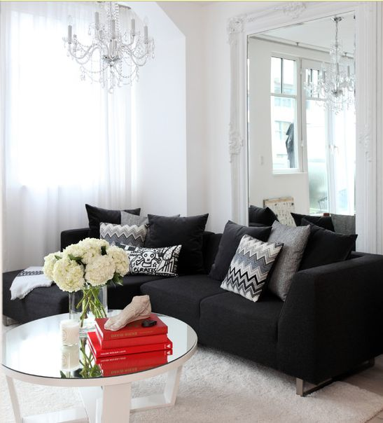 Best Black Couches Couch And Living Rooms On Pinterest This Month
