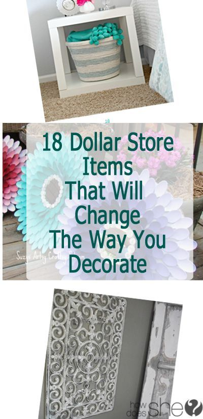 Best Dollar Stores Home Decor And Diy Home On Pinterest This Month