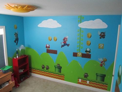 Best Wall Decor Mario Brothers Nursery Pinterest Wall This Month