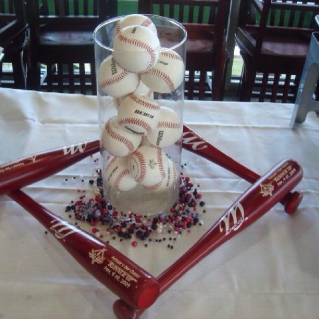 Best 25 Best Ideas About Baseball Party Centerpieces On This Month