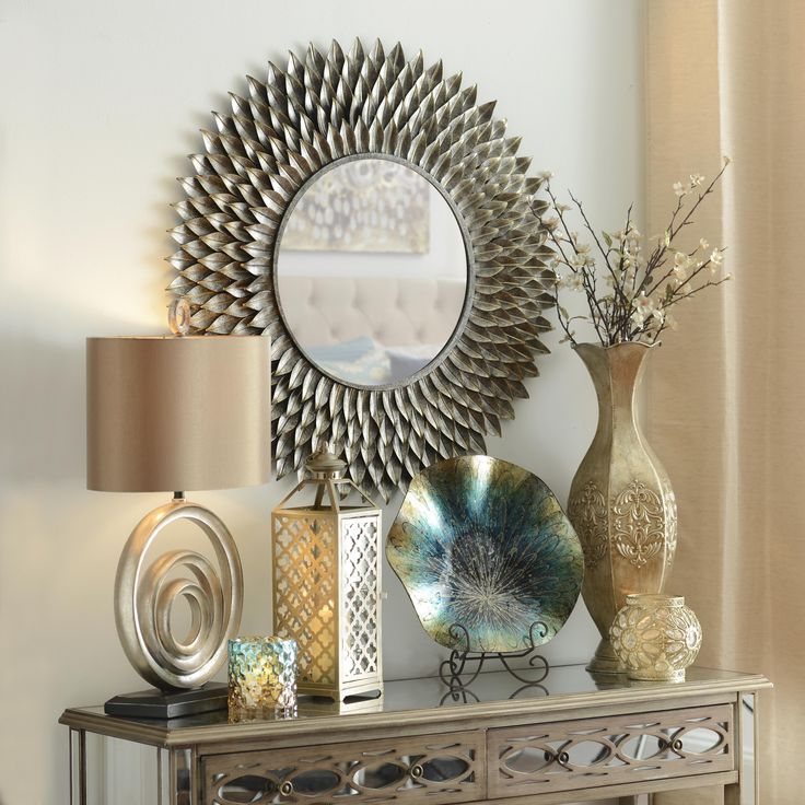 Best 312 Best Images About Decorating With Metalics On Pinterest Joss And Main Mercury Glass And This Month