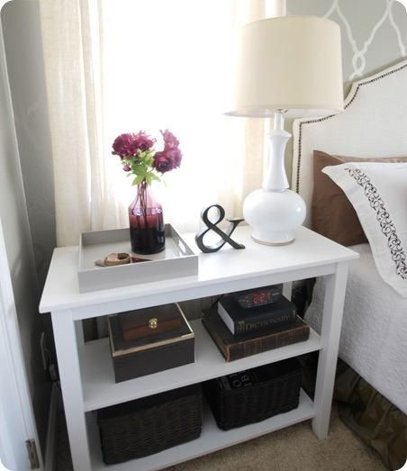 Best 25 White Nightstand Ideas On Pinterest This Month