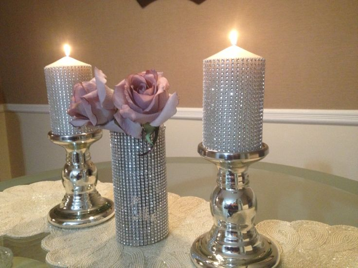 Best Bling Wedding Decor Crystal Centerpieces Rhinestone This Month