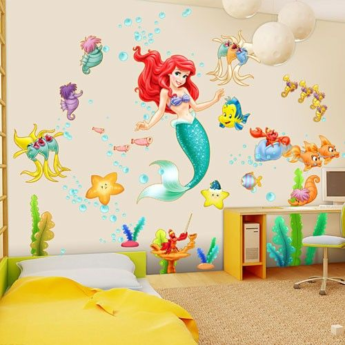 Best 50 Best Images About Little Mermaid Toddler Room On Pinterest This Month