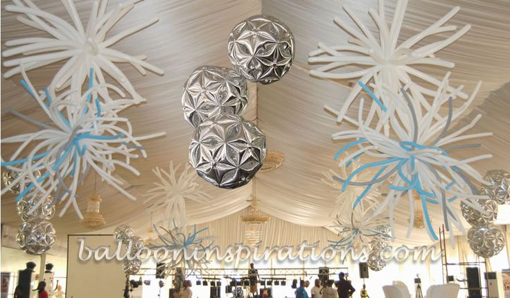 Best Balloon Disco B*Lls Form Part Of The Ceiling Decorations This Month
