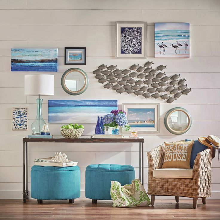 Best 240 Best Coastal Wall Decor Shop Diy Images On Pinterest This Month