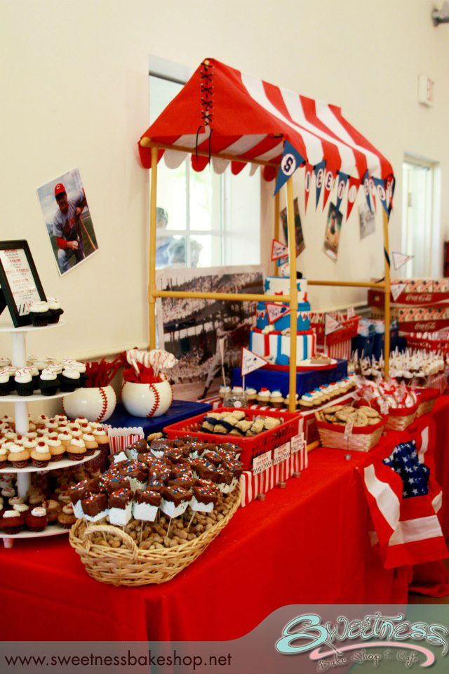 Best Vintage Baseball Themed Baby Shower Styled By Sweetness This Month