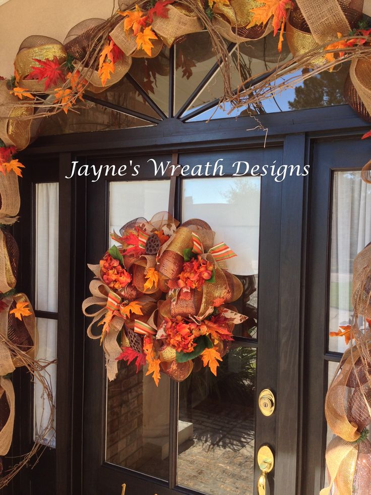 Best Fall Autumn Decorations Grapevine Garland With Browns This Month