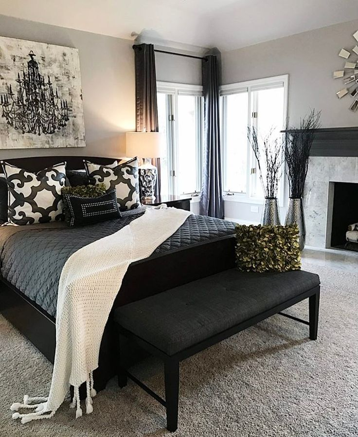 Best 17 Best Ideas About Grey Bedroom Decor On Pinterest This Month