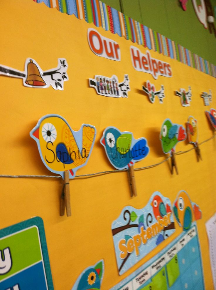 Best Birds On A Wire Helper Chart For Preschool So Cute At This Month