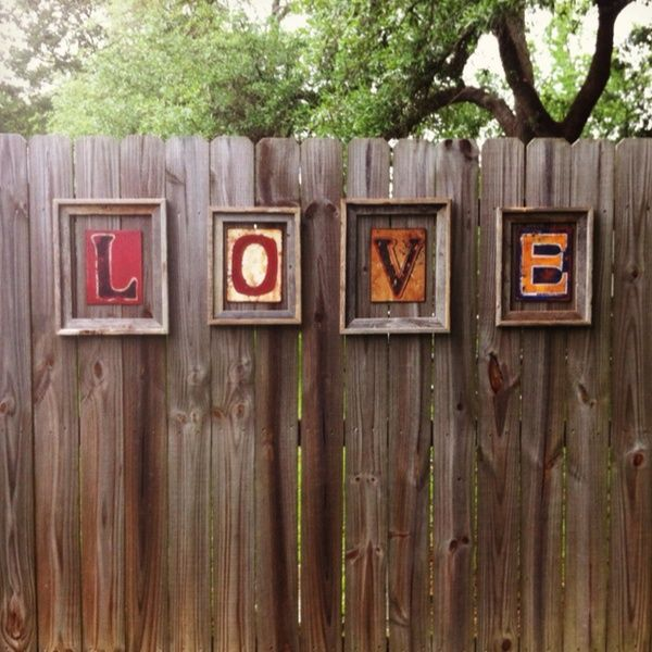Best 17 Best Images About Fence Decorating Ideas On Pinterest This Month