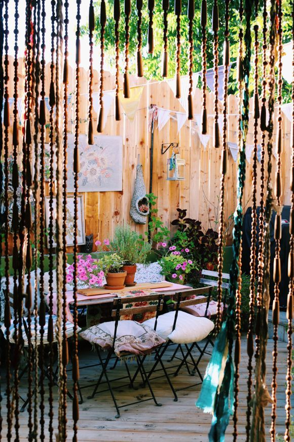 Best 674 Best Images About Bohemian Back Yards Balconies This Month