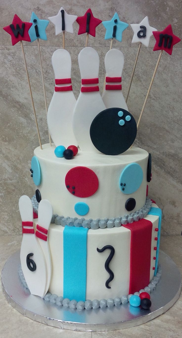 Best 25 Best Ideas About Bowling Birthday Cakes On Pinterest This Month