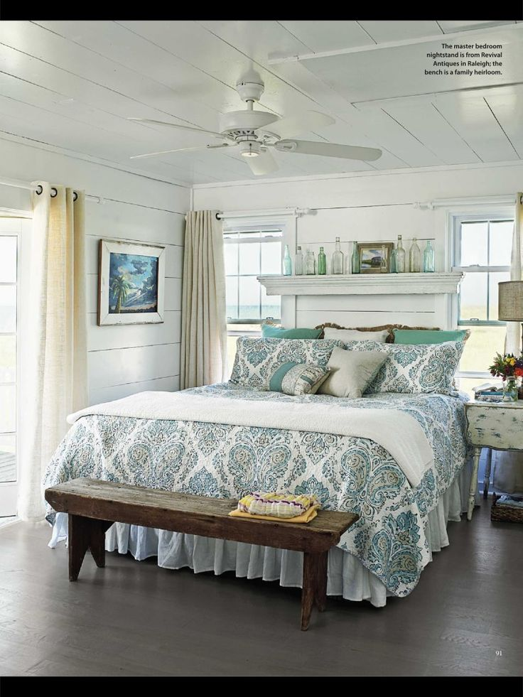 Best Cottage Style Bedroom My Beach Cottage Decorating Ideas This Month