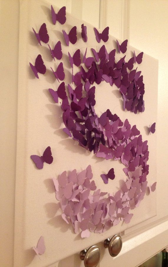 Best 17 Best Ideas About Butterfly Wall Art On Pinterest Diy This Month