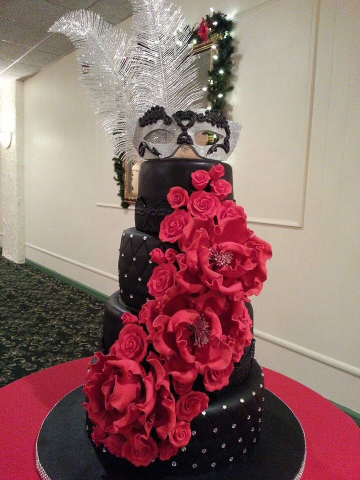 Best 25 Best Ideas About Masquerade Cakes On Pinterest This Month