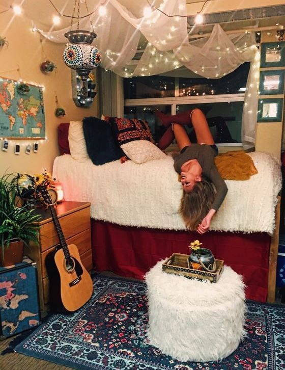 Best 50 Cute Dorm Room Ideas That You Need To Copy Cute Dorm This Month