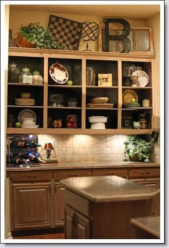 Best 42 Best Images About Decor Above Kitchen Cabinets On This Month