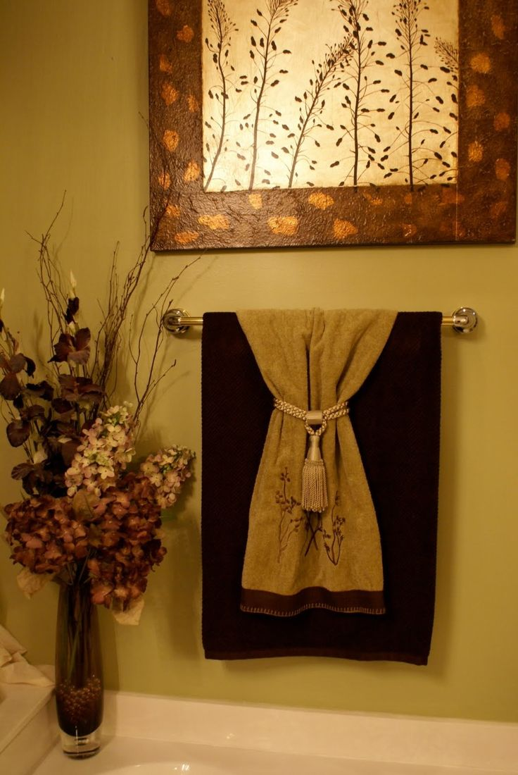 Best Decorative Towels 1St Level Bathroom Idea Pinterest This Month